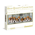 PUZZLE 1000 PZ PANORAMA BEAGLES